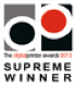 Kingsline Digital Printer Awards - Supreme Winner